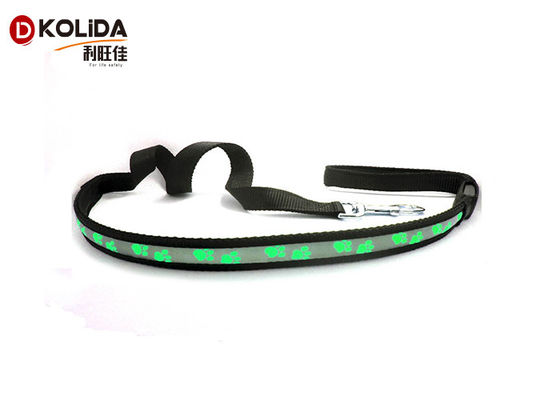 Pet Luminous Fast Slow Steady Flashing Glow In The Dark Dog Leash 2.5x120cm