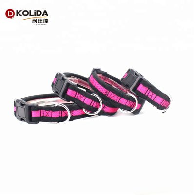 Softy Airmesh Nylon Dog Collars For Training Customized Adjustable Durable